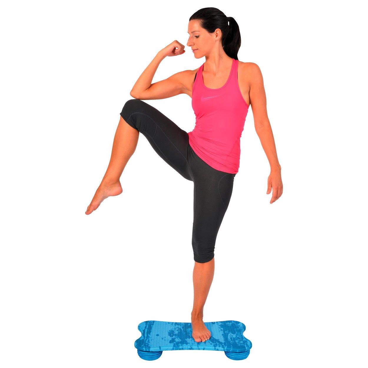 BAMUSTA Placa Koordinationstrainer Balancetrainer Gleichgewichtstrainer 60x39 cm