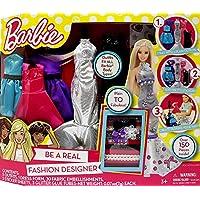 Barbie Be a Fashion Designer Doll Dress Up Kit