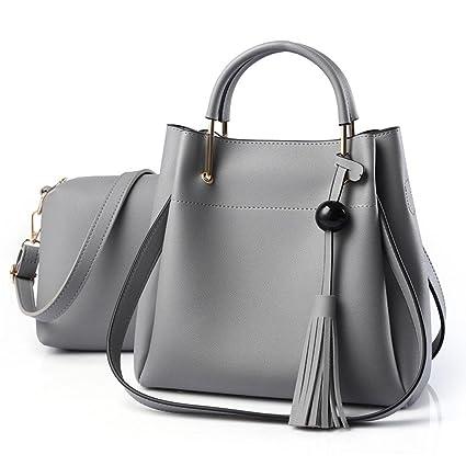 CELO - Bolso estilo cartera para mujer gris