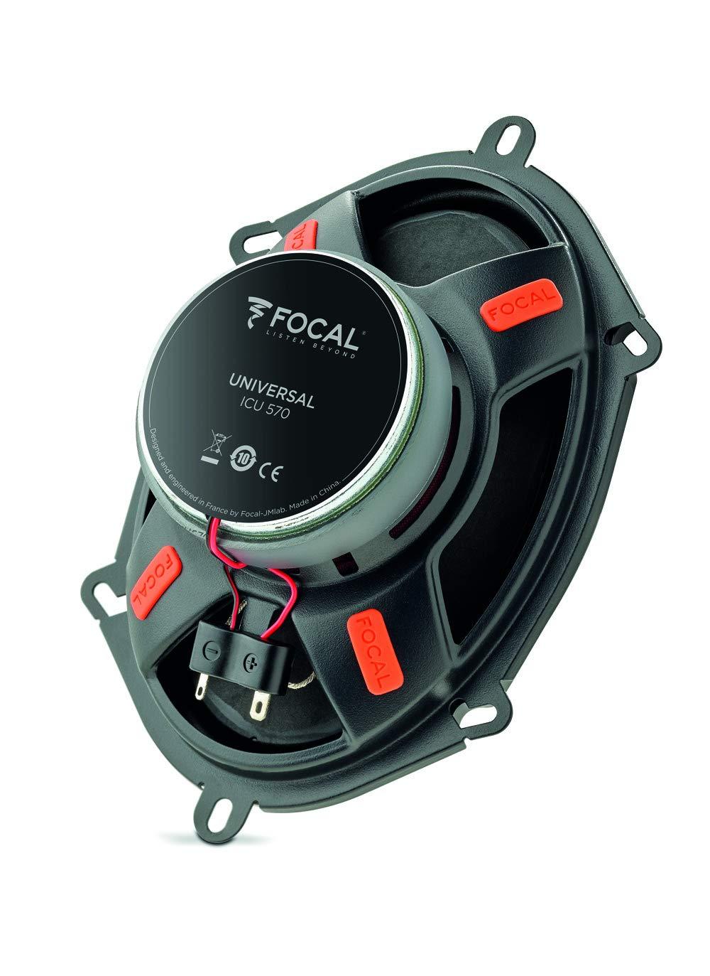 2 St/ück Focal ICU570 Integration 2-Wege Coax 13 x 18 cm 1 Paar