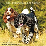 English Springer Spaniel Calendar - 2017 Wall Calendars - Calendar 2016 - Dog Breed Calendars - Monthly Wall Calendar by Magnum