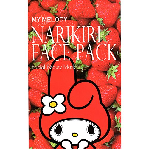 (Japan Health and Beauty - My Melody Narikiri face pack strawberry essence 20ml × 2 *AF27*)