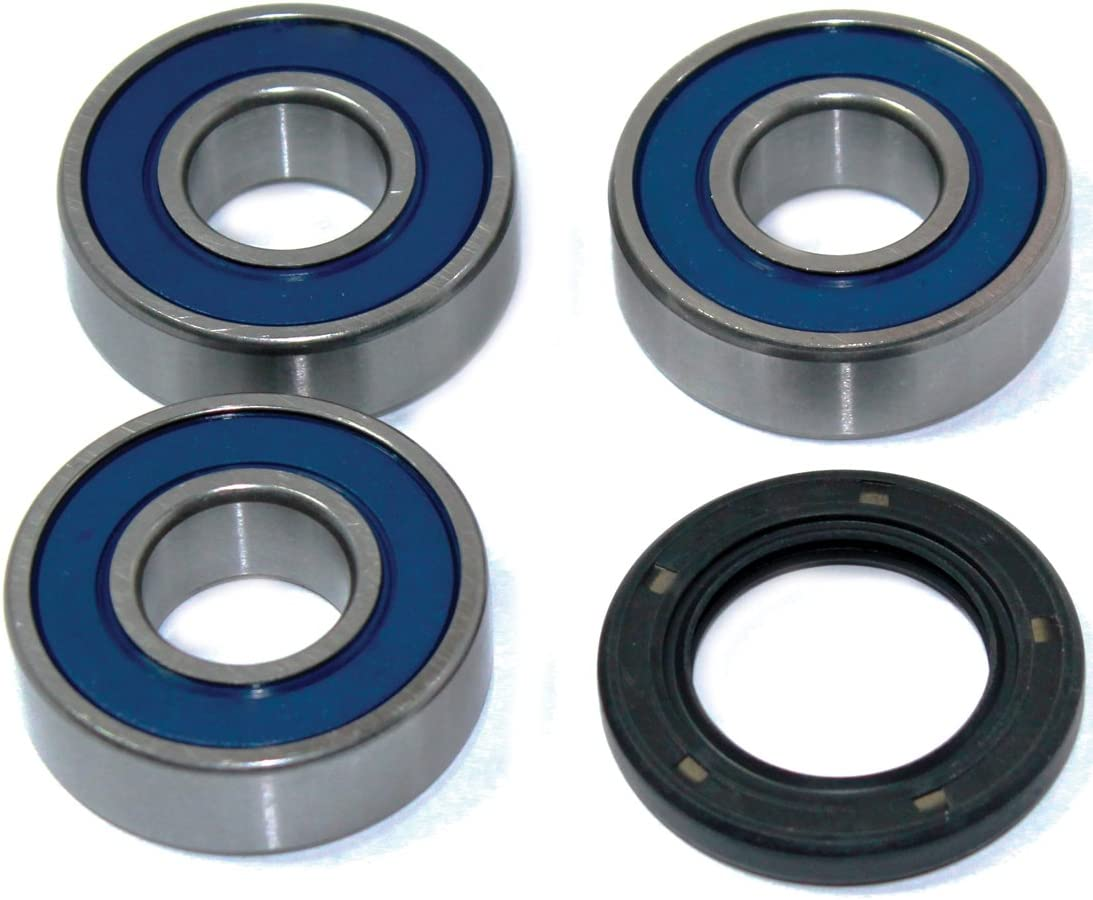 Caltric Rear Wheel Ball Bearings /& Seals Kit for Yamaha Xt225 Xt-225 Serow 225 1992-2000