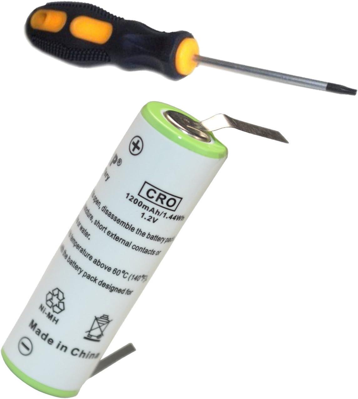 HQRP batería para Braun TriControl Model 4740, 4745, tipo 5714 ...