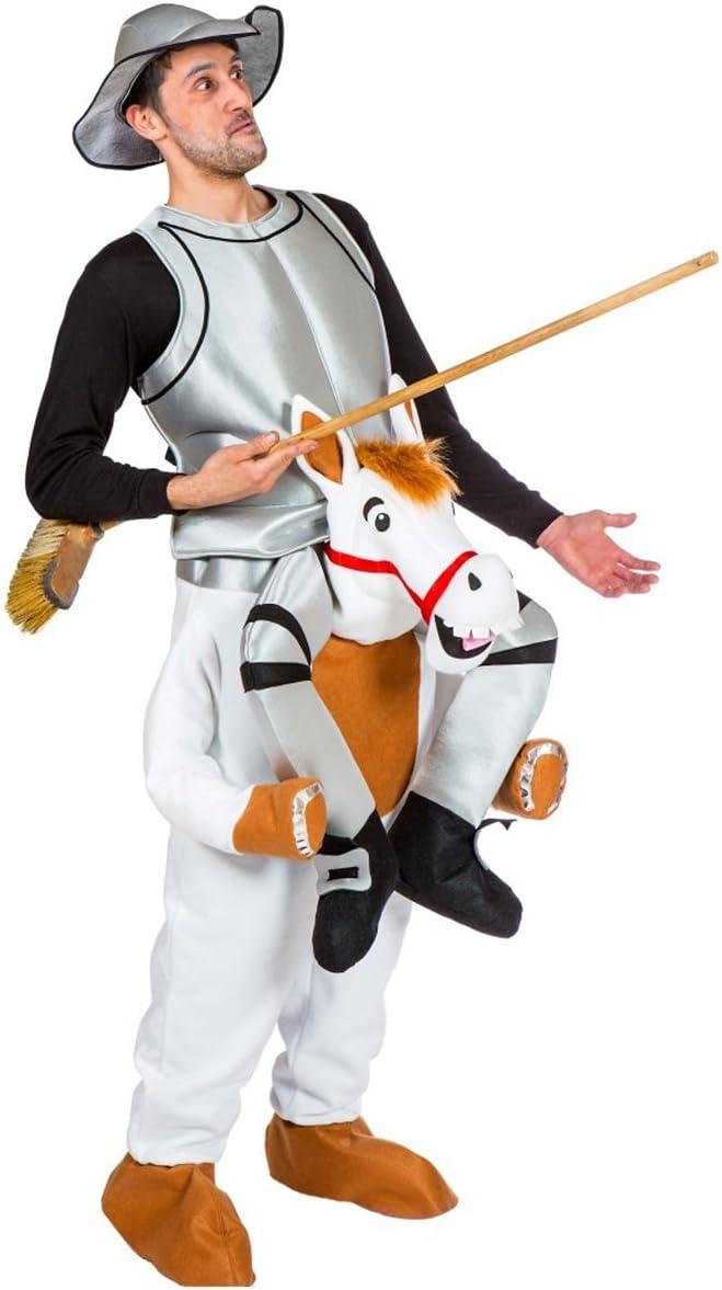 Nines dOnil Disfraz de Don Quijote con Rocinante para Adultos ...