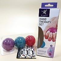 Juego de pelotas de mano terapéuticas, para fortalecimiento