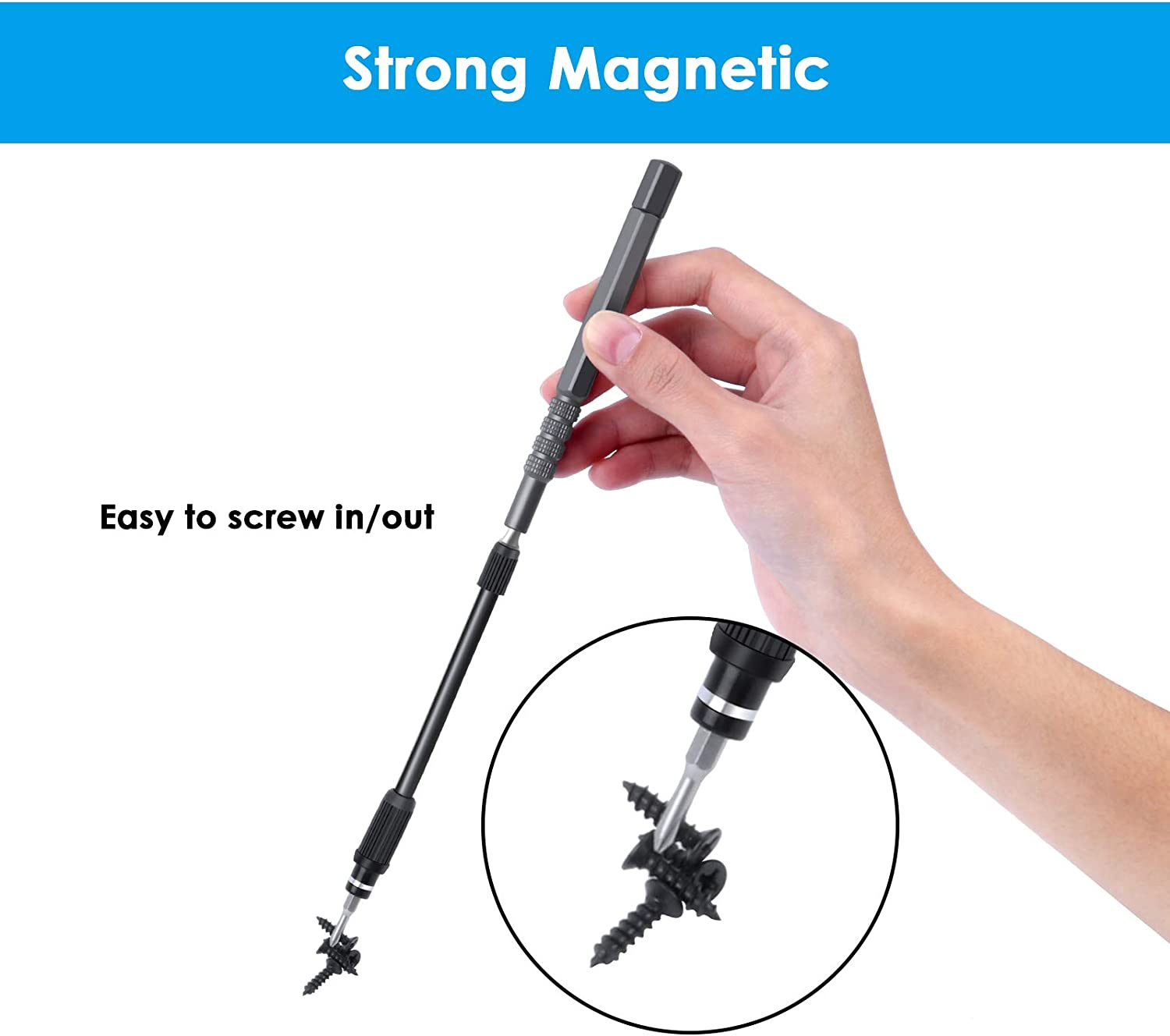 Professional Torx//Phillips//Slotted Screwdriver Sets Included Ottateat 50 in 1 Magnetic Screwdriver Kit Precision Screwdriver Set Small Screw Driver for Electronics Repair