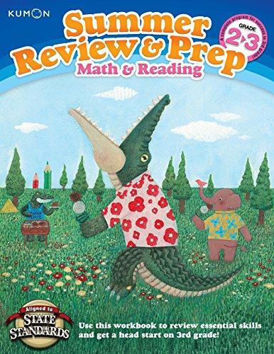 Kumon Summer Review & Prep Workbooks 2-3