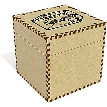 Azeeda Grande (81mm) Pecera Joyería Caja (JB00041058): Amazon.es ...