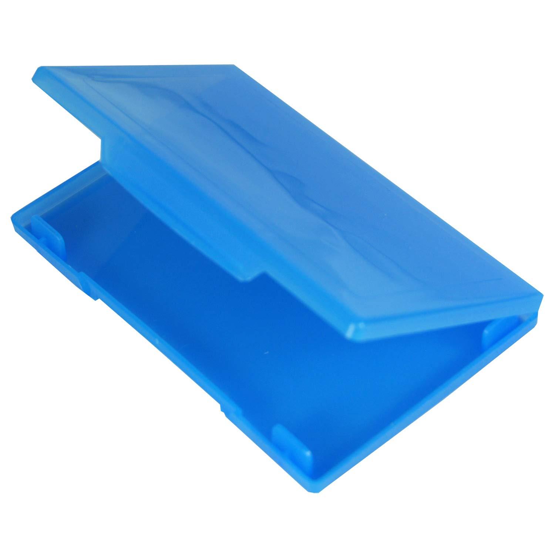 /15/biglietti Confezione da 5 Trasparente Westonboxes plastica porta biglietti da visita in pelle per 10/