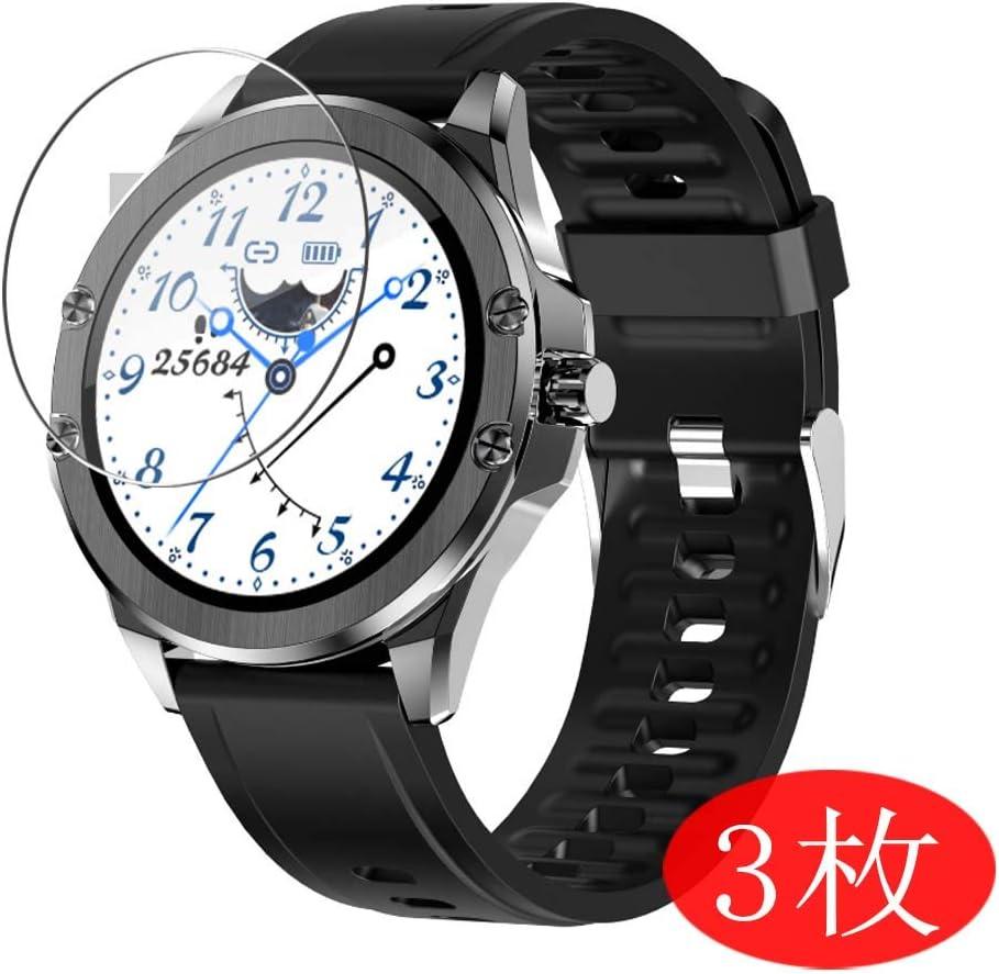 VacFun 3 Piezas HD Claro Protector de Pantalla para Smartwatch Smart Watch S11, Screen Protector Sin Burbujas Película Protectora (Not Cristal Templado)