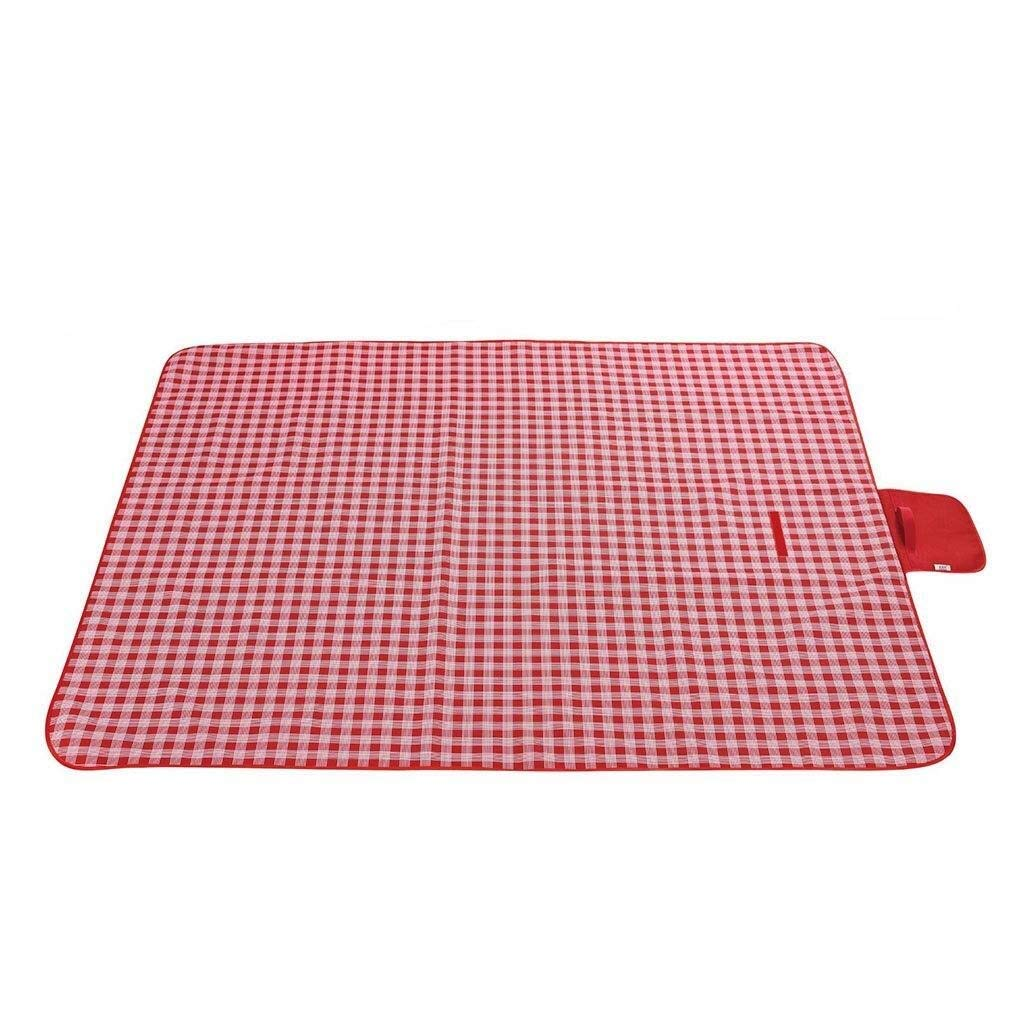 ZKKWLL Picnic Blanket Outdoor Picnic Blanket Picnic mat Moisture-Proof Carpet Padded pad Oxford Cloth Lawn mat Portable Picnic Cloth pad Beach Camping Trip Beach mat (Color : C) by ZKKWLL