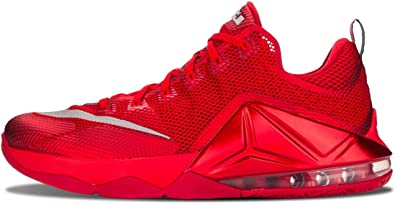 lebron 12 low red