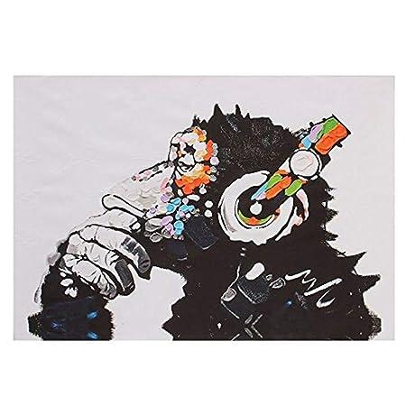 FLy Mural Lienzo Arte de la Pared orangután Tinta Pintura ...