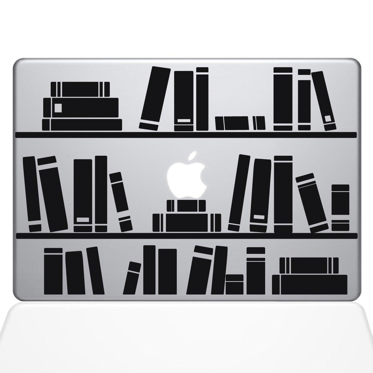 売り切れ必至! Bookshelf シルバー Library Macbookデカール、Die Cut Vinyl Decal for シルバー Windows車 Vinyl、トラック、ツールボックス、ノートパソコン、ほぼすべてmacbook-ハード、滑らかな表面 シルバー Titans-Unique-Design-118789-Silver シルバー B07239NFFD, ドラゴン商会:7b951252 --- kickit.co.ke