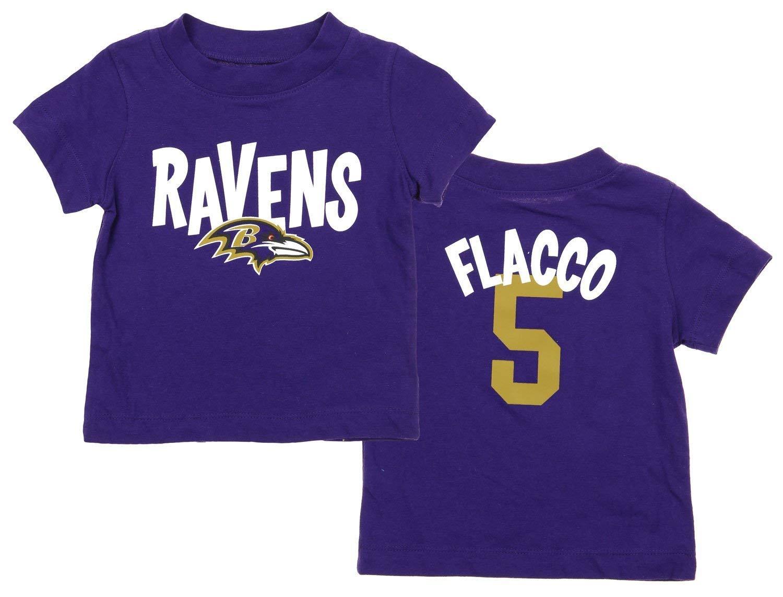 早割クーポン! Baltimore Ravens NFL Infant Infant Boysジョーフラッコ# 5 NFL Whirlwind Player Tee Months、パープル 24 Months パープル B06XD75Q8Y, 【受注生産品】:b69f3fcb --- a0267596.xsph.ru