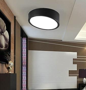 LIXIONG LED-Decken Rampe Moderne minimalistische Kreis Gang kleines ...