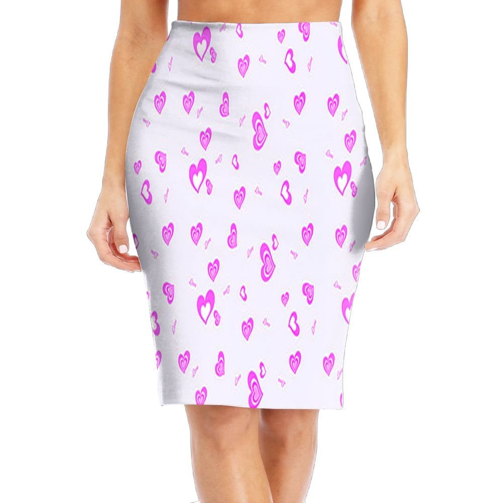 7bffbe90559a Womens Pencil Skirt Pink – DACC