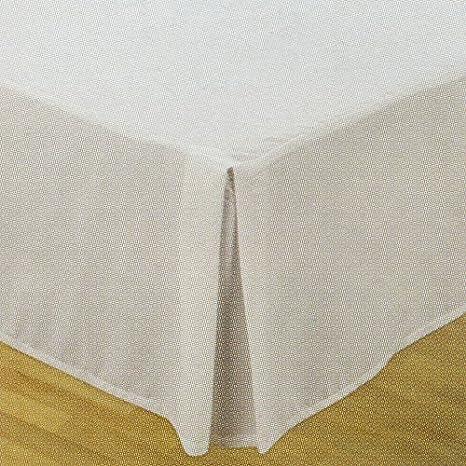 Ikea - Falda de cama, color blanco: Amazon.es: Hogar