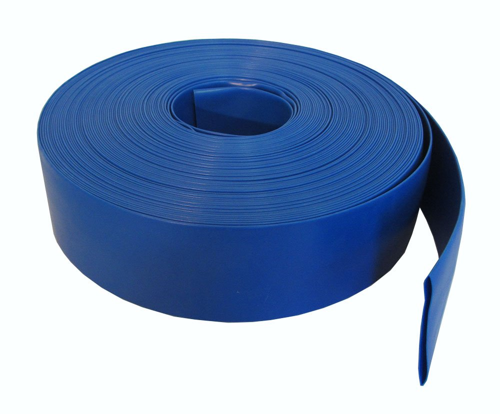 Heavy Duty Deluxe 2'' Backwater Hose for Swimming Pools - 200ft Long by Pooline