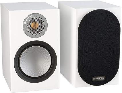 Monitor Audio Silver Rx1 Monitor Lautsprecher Farbe High Gloss White Lacquer Preis Paar Audio Hifi