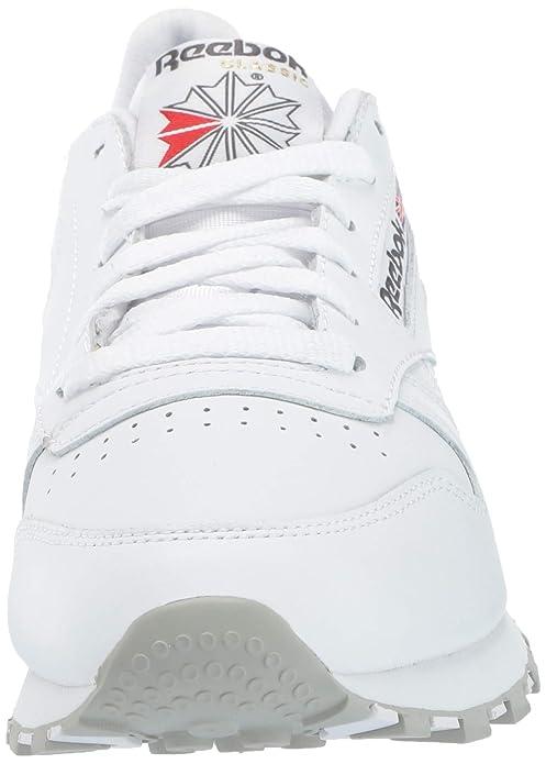 wholesale dealer 1dc02 7584e Amazon.com   Reebok Men s Classic Leather Sneaker   Fashion Sneakers