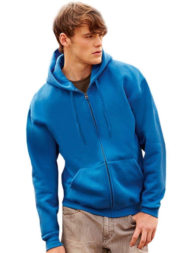 Fruit of the Loom Herren Premium Hooded Zip Sweat Sweatshirt