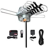 $30 » Outdoor Digital Amplified HD TV Antenna 150 Miles Long Range - Support 4K 1080p Fire tv…