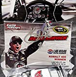 AUTOGRAPHED 2015 Kevin Harvick #4 Jimmy Johns Racing LAS VEGAS WIN (Raced Version) Signed NASCAR Authentics Wave 3 Lionel 1/64 Scale Collectible Diecast Car with COA