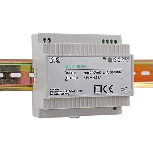 Din-Rail Fuente de alimentación 12W 5V 2,4A ; MeanWell DR-15-5
