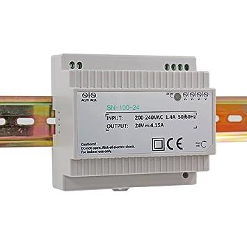 15,2W LED Hutschienen Netzteil Trafo Transformator Hutschienennetzteil  24V