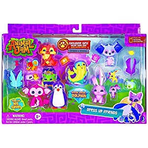 Animal Jam Dress Up Friends Exclusive Figure Set - 61jB3x9 gZL - Animal Jam Dress Up Friends Exclusive Figure Set
