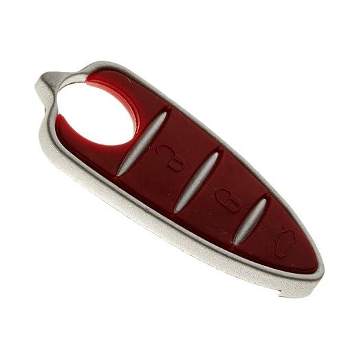 2 opinioni per Tasti di ricambio per telecomando auto a 3 pulsanti Alfa Romeo Mito, Giulietta,