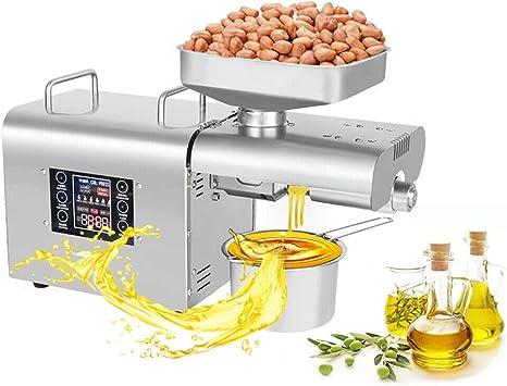 Ölpresse Maschine Öl Expeller Extraktor des Öl Automatisch Temperaturkontrolle