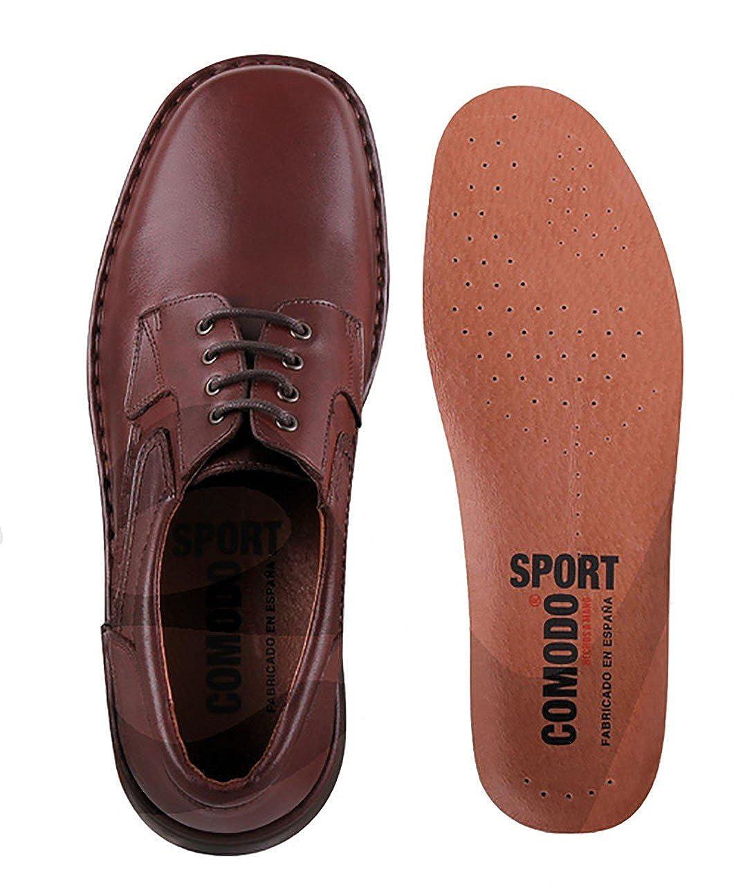 340a2f81 Comodos Sport - 6003 - Zapato Caballero Piel: Amazon.es: Zapatos y  complementos