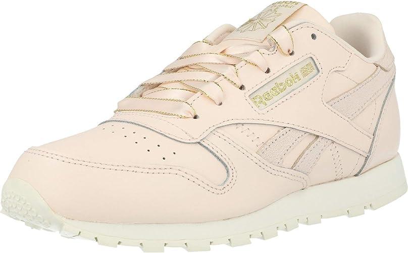 ansiedad taburete virtud  Reebok Classic Leather Pale Pink/Chalk Leather 3½ US Junior: Amazon.ca:  Shoes & Handbags