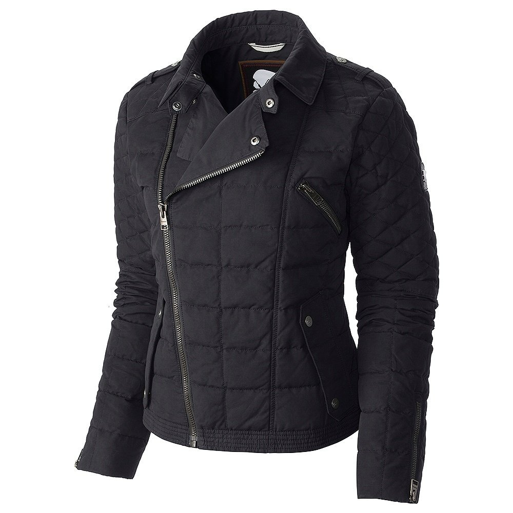 Sorel Conquest Carly Motoスキージャケット女性用 ブラック L