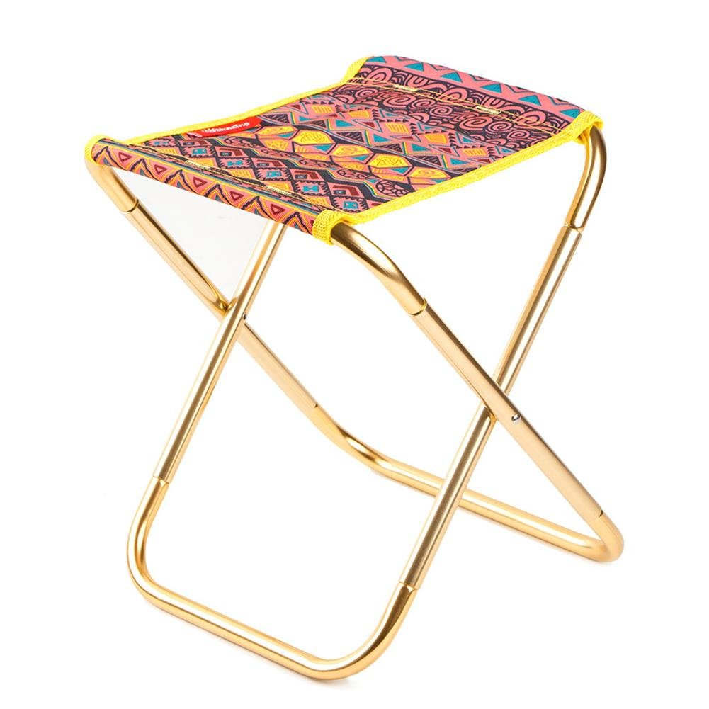 Beatie portable travel beach chair ,Outdoor Folding Stool Chair for BBQ, Fishing ,Camping ,Hiking, Picnic, Beach, Lightweight & Portable