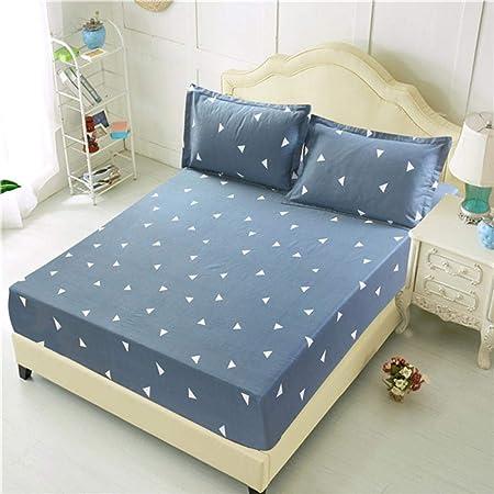 iHomei Juego de sábanas con funda de almohada estampada
