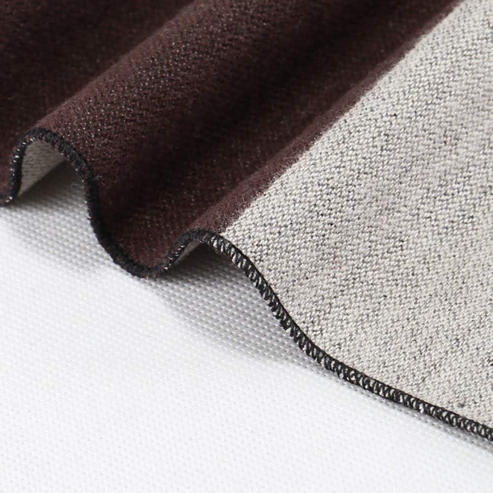 Color : 1, Size : 18030CM Zhukeke Mens Autumn Winter Warm Scarf Striped Grid Neckerchief Tartan Scarves Paisley Bandannas Bandelet 18030cm for Men Long Shawls Wear-Resistant Fashion