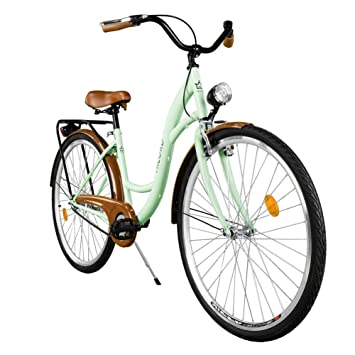 """2018 Cómoda Bicicleta de ciudad, Bicicleta, 1 Velocidades, Rueda de 28"""""""