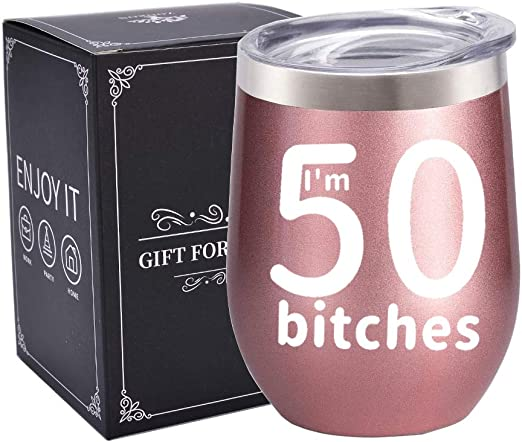 Amazon Com I M 50 Funny 50th Birthday Gifts For Women Best