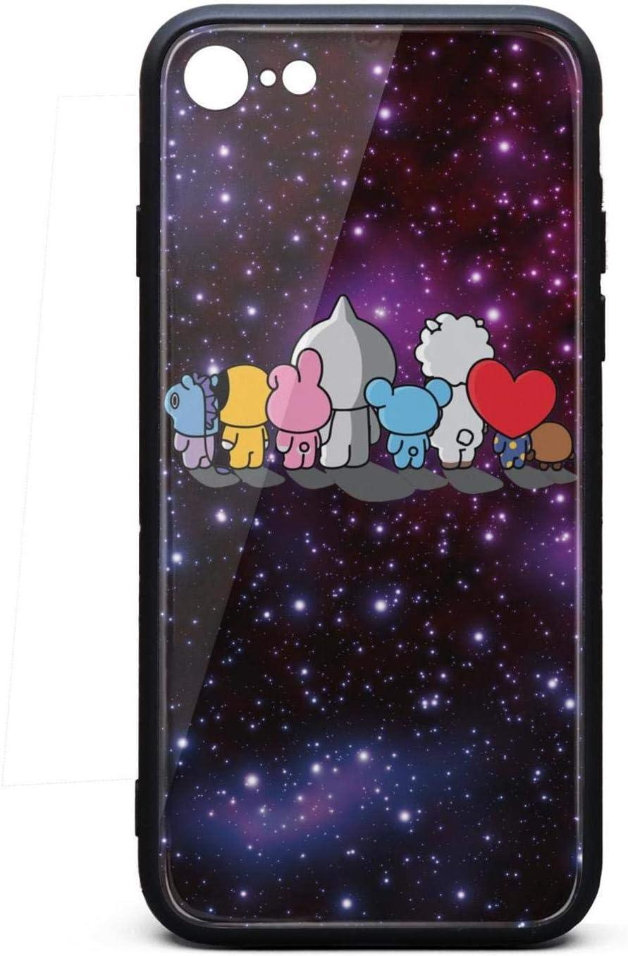 Coque de Protection pour iPhone 6/6s Bts-bt21-cartoon- Pop arrière ...