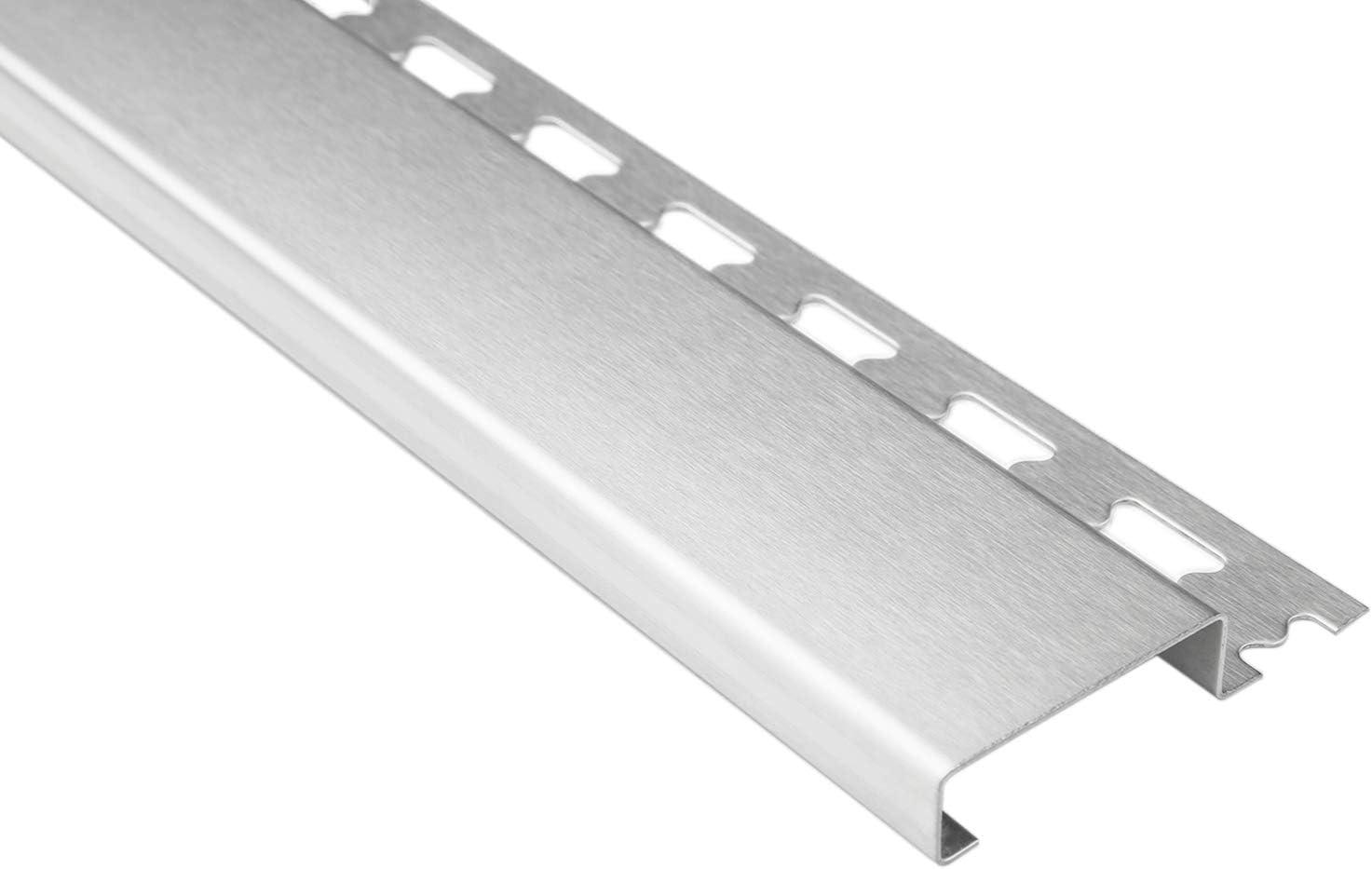 Sockelprofil V2A Edelstahl HEX940 SI rostfrei 2 Meter 10mm