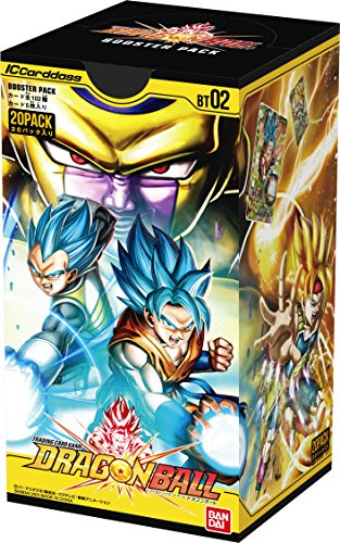 IC Cardass Dragon Ball 2nd booster pack [BT02] (BOX) / Japan Imported by bndai by Bandai