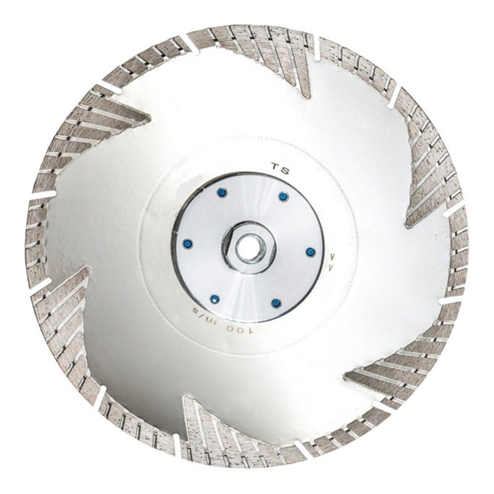 Diamond Cutting Disc 230 mm Euro TS also Reinforced Concrete Granite KLINKER Flange M14 Turbo Crescent Cut Flush Sections Premium Diamant Union GmbH