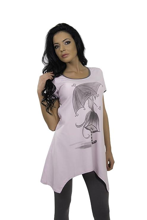 IVA TEX - Pijama - para Mujer Morado Morado: Amazon.es: Ropa y accesorios