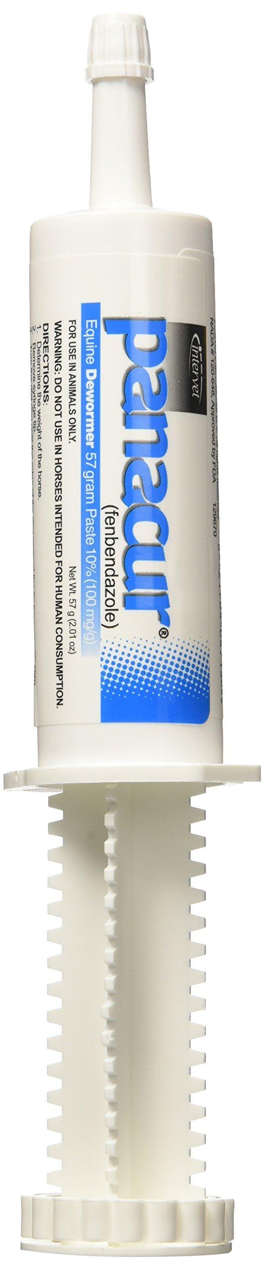 Merck Animal Health Panacur Paste 10-Percent Powerpac (5 Pack), 57 gm