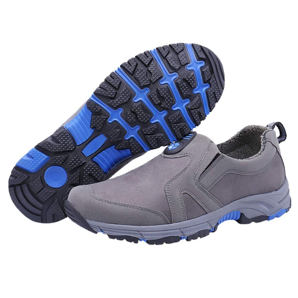 [NIUJIN-men Shoes] メンズ 11 41 M EU グレー B07K1WVPCK