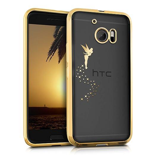 4 opinioni per kwmobile Cover per HTC 10- Custodia protettiva in silicone TPU cristallo